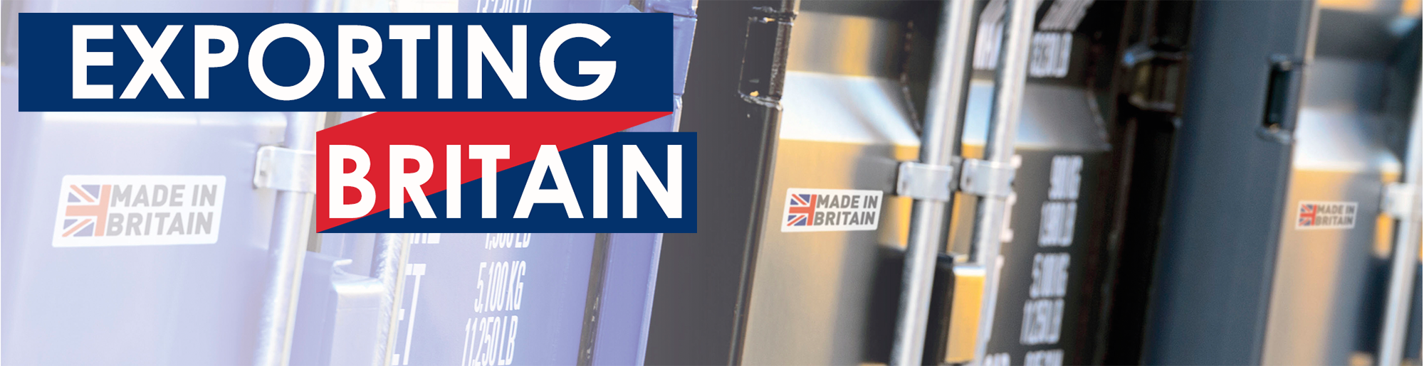 Exporting the British market through free Made in Britain logo