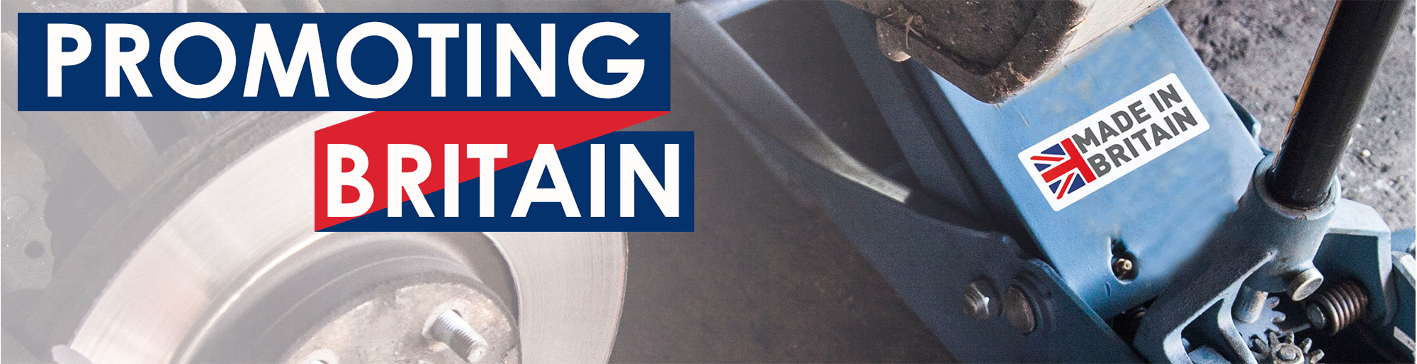Promoting Britain through free Made in Britain logo